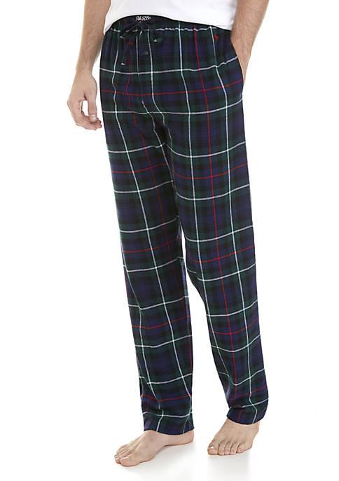 Polo Ralph Lauren Plaid Cotton Flannel Pajama Pants