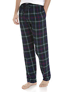 Plaid Cotton Flannel Pajama Pants