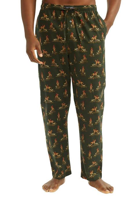 Hunter & Dog Printed Flannel Pajama Pants