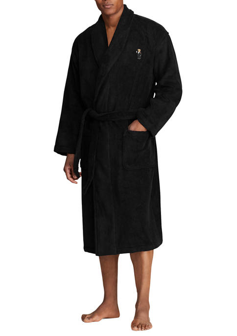 Big & Tall Terry Shawl Collar Robe