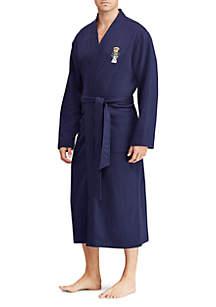 Polo Bear Fleece Kimono Robe