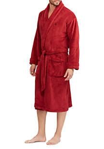 Red Microfiber Robe