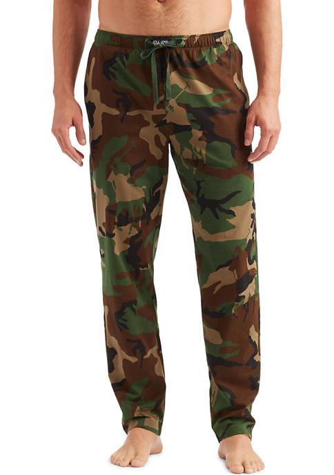 Polo Ralph Lauren Camo Knit Pajama Pants