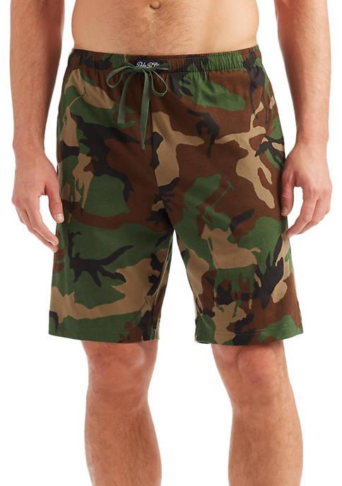 Polo Ralph Lauren Camo Knit Sleep Shorts