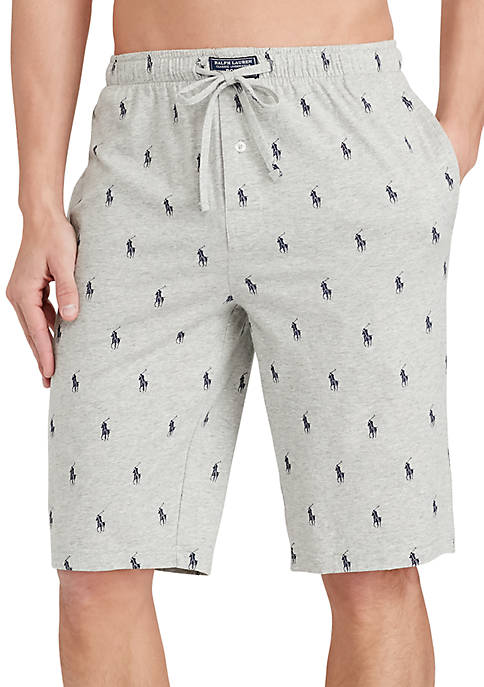 Polo Ralph Lauren Allover Pony Pajama Shorts