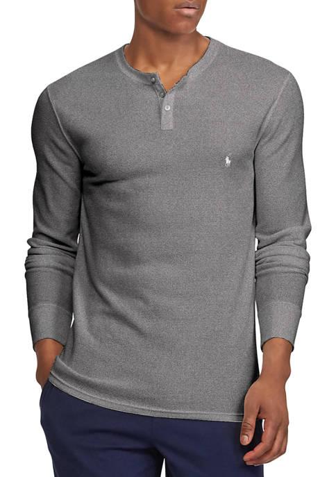 Thermal Henley Sleep Shirt