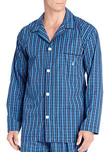Polo Ralph Lauren Long Sleeve Pajama Top