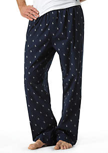 Polo Player Print Pajama Pant