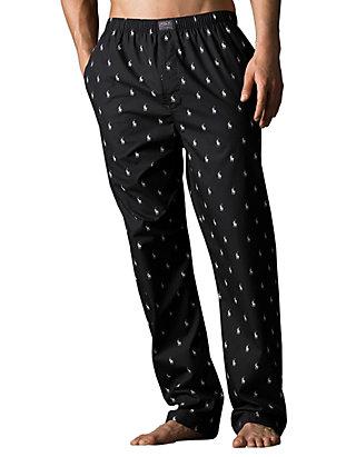separation shoes 76e74 6b471 Polo Player Print Pajama Pants