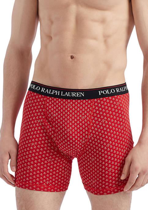 Polo Ralph Lauren Classic Fit Cotton Boxer Briefs