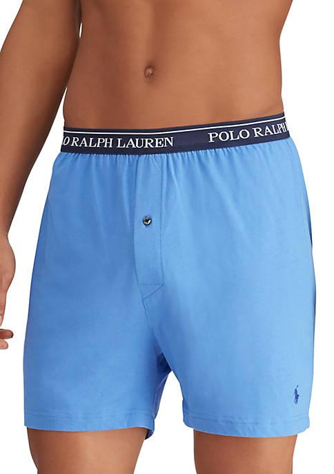 Polo Ralph Lauren Classic Fit Knit Boxer 3-Pack