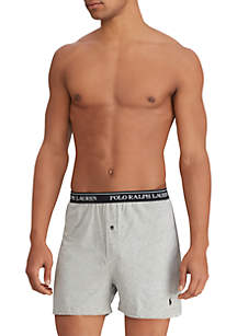 Classic Fit Knit Boxer Brief 3-Pack
