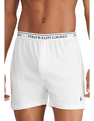 Polo Ralph Lauren Mens 3-Pack Knit Boxers