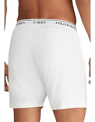 50a0ec89625 ... Polo Ralph Lauren Classic Fit Knit Boxer Brief 3-Pack ...