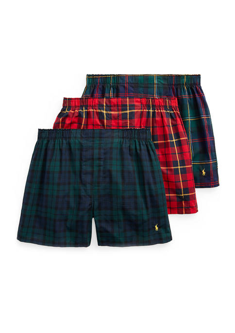 Polo Ralph Lauren 3 Pack of Cotton Boxers