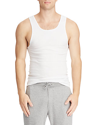 5ad88a5ebe8ba Polo Ralph Lauren Big   Tall Classic Fit Tank Top 3-Pack ...
