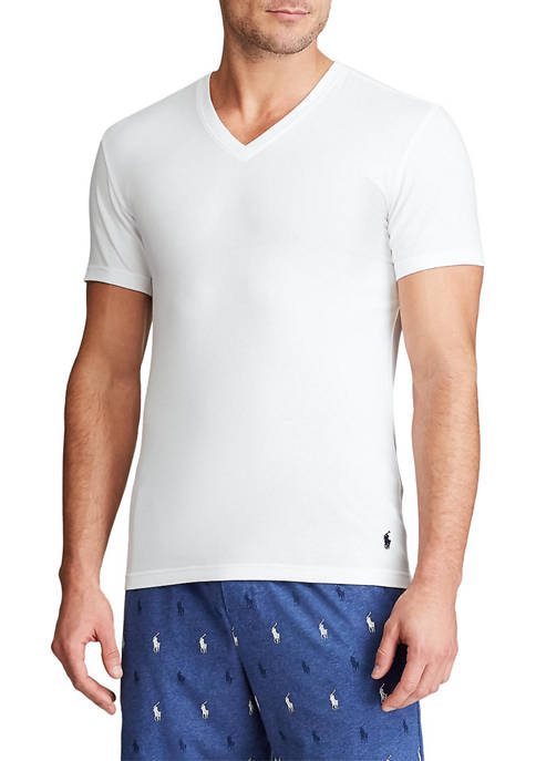 Big & Tall V-Neck Undershirt Set