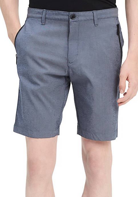 Calvin Klein 9 Tech Zip Shorts