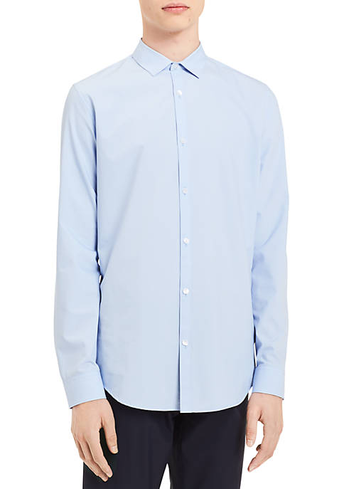 Calvin Klein Infinite Fit Long Sleeve Chambray Shirt