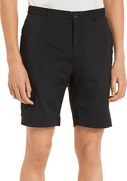 Calvin Klein Core Flat Front Stretch Shorts