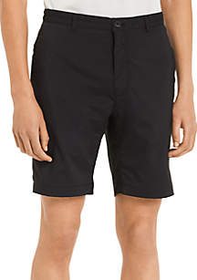 Core Flat Front Stretch Shorts
