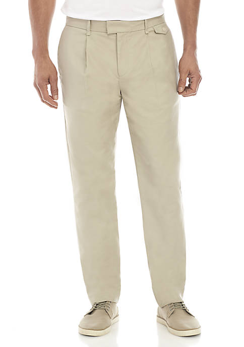 Calvin Klein Military Sateen Pressed Trousers
