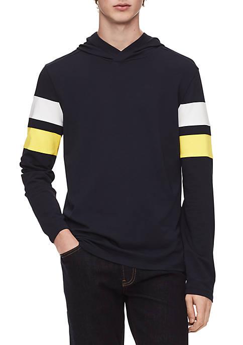 Calvin Klein Regular Fit Colorblock Hoodie