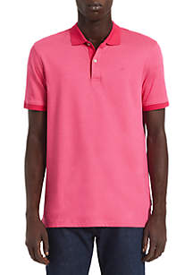 Calvin Klein Liquid Touch Short Sleeve Polo