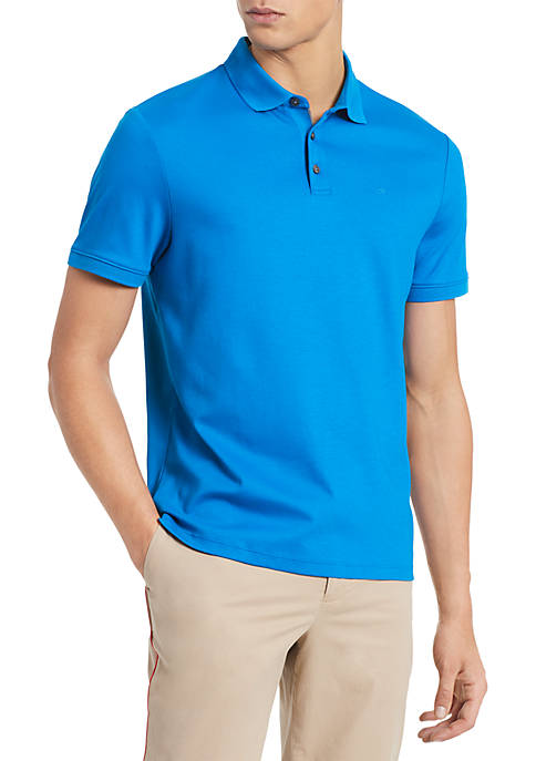 Calvin Klein Liquid Touch Short Sleeve Polo