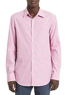 Calvin Klein Cotton Cashmere Seasonal Check Shirt