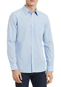 Calvin Klein Extra Fine Cotton Seasonal Gingham Shirt