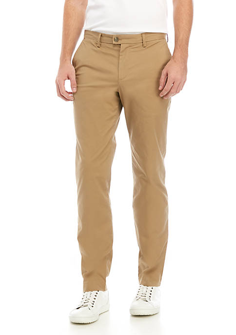 Calvin Klein Mens The Refined Stretch Chino Pants