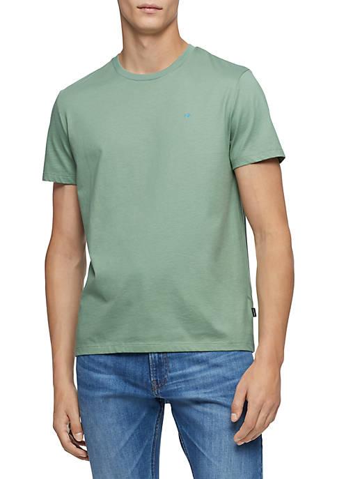 Calvin Klein Solid Short Sleeve T Shirt