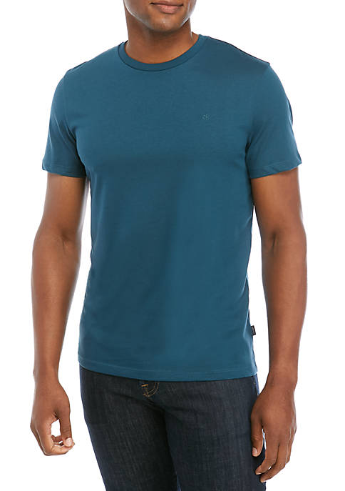 Calvin Klein Solid Short Sleeve T Shirt