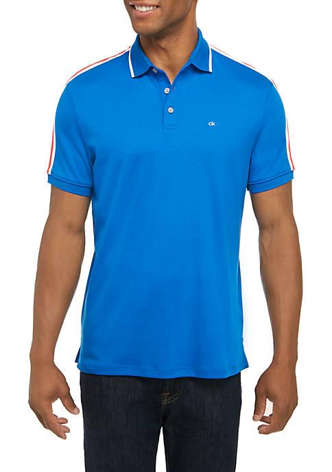 Calvin Klein Liquid Touch Short Sleeve Polo Shirt