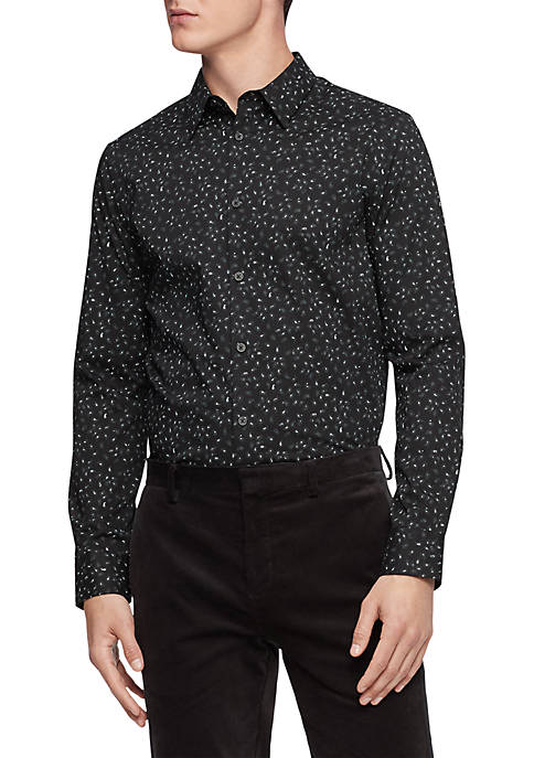 Calvin Klein The Paisley Cotton Shirt