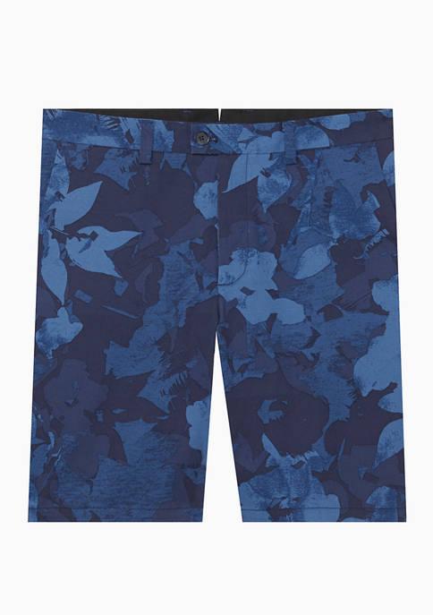 Mens Floral Printed Shorts