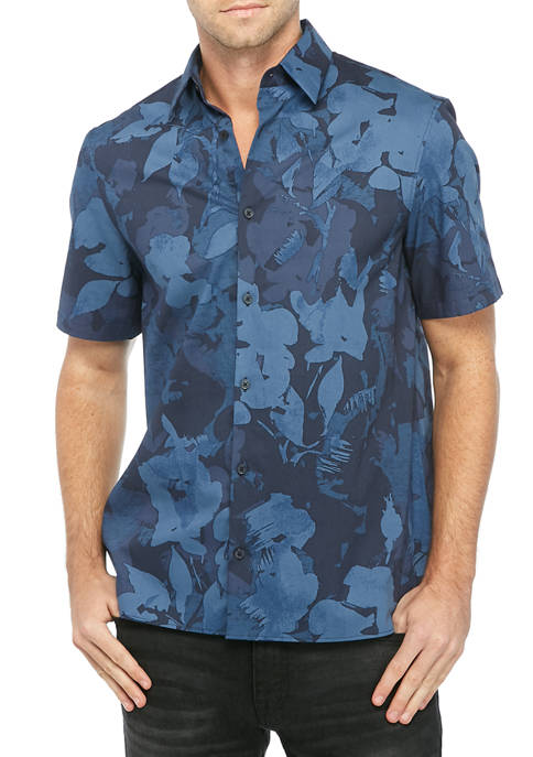 Mens Traveler Short Sleeve Shirt
