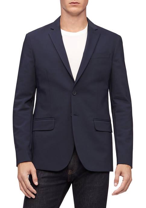 Calvin Klein Mens Tech Woven Sport Coat