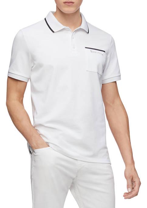 Calvin Klein Short Sleeve Move Pocket Polo
