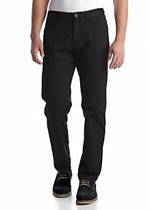 Straight-Fit Calvary Twill Pants