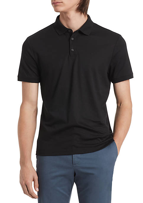 Calvin Klein New Edition Liquid Touch Polo Shirt