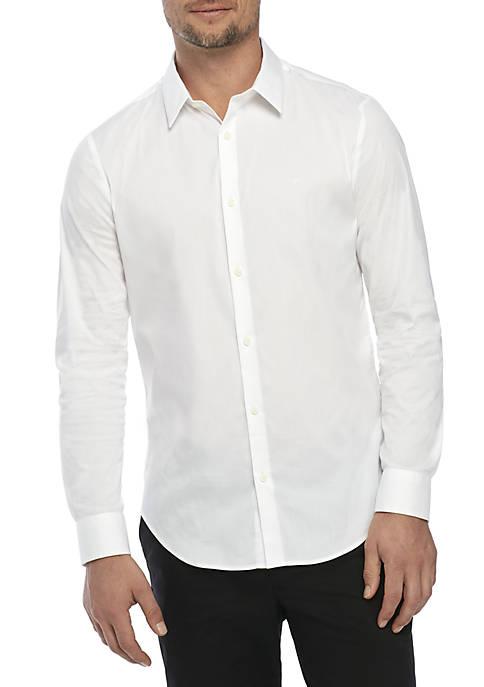 Calvin Klein Stretch Cotton Slim Fit Shirt