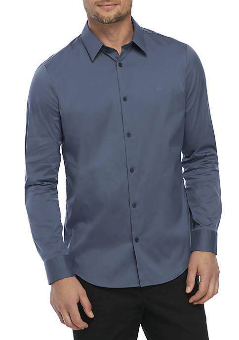 Stretch Cotton Slim Fit Shirt
