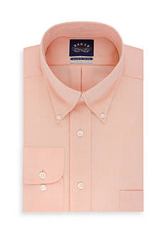Eagle Non Iron Regular Fit Stretch Collar Solid Dress Shirt