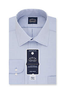 Eagle Non Iron Stretch Collar Regular Fit Dress Shirt