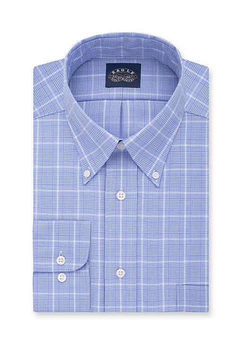 Non Iron Stretch Collar Regular Fit Dress Shirt