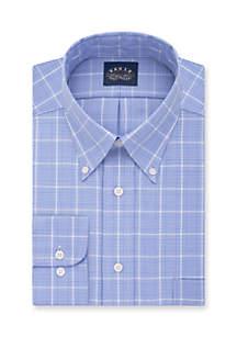 Eagle Non Iron Stretch Collar Regular Fit Dress Shirt