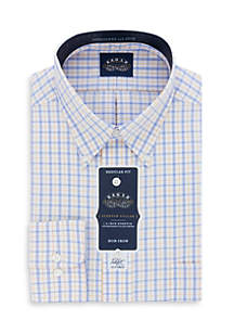 Non Iron Stretch Collar Big and Tall Fit Dress Shirt