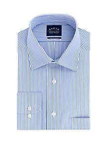 Eagle Striped Cotton Long Sleeve Shirt